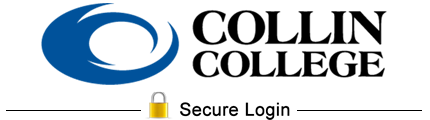 Collin College - Secure Login